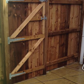 wood fence from Castle Fencing