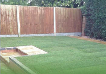 fence done by Castle Fencing